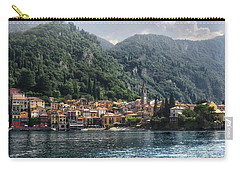 Carry-all Pouch featuring the photograph Approaching Varenna by Jim Hill