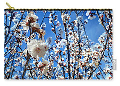 Carry-all Pouch featuring the photograph Apricot Blossoms by Glenn McCarthy Art and Photography