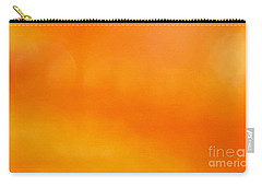 Apricot Drop Carry-all Pouch by Carlee Ojeda