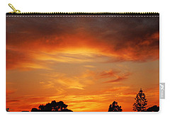 Apricot Sunset Carry-all Pouch by Mark Blauhoefer