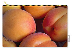 Carry-all Pouch featuring the photograph Apricots by Cristina Stefan