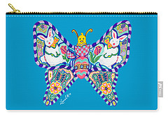 April Butterfly Carry-all Pouch