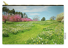 Carry-all Pouch featuring the photograph April Days by Diana Angstadt
