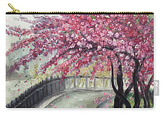 April In Paris Carry-all Pouch by Roxy Rich