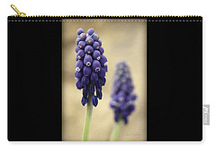 Carry-all Pouch featuring the photograph April Indigo by Chris Berry