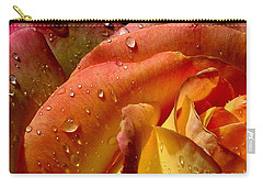 Carry-all Pouch featuring the photograph April Showers by Marie Neder
