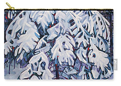 April Snow Carry-all Pouch