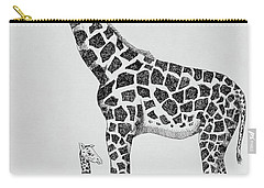 April The Giraffe Carry-all Pouch
