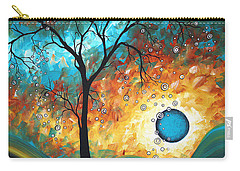 Aqua Burn By Madart Carry-all Pouch