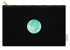 Aqua Moon Carry-all Pouch