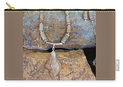 Aqua Terra Jasper #s51 Carry-all Pouch by Barbara Prestridge