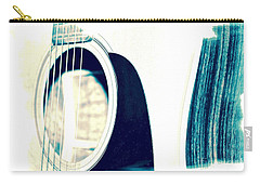 Aqua Tones Carry-all Pouch by Linda Bianic