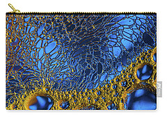 Aqua Treasure Carry-all Pouch by Bruce Pritchett
