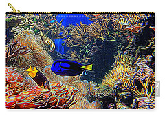 Aquarium Adventures In Abstract Carry-all Pouch
