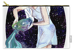 Aquarius Water Bearer Carry-all Pouch
