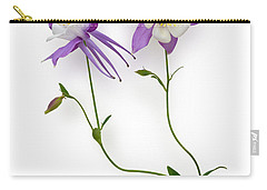 Aquilegia Specimen Carry-all Pouch by Jane McIlroy