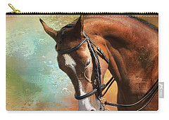 Arabian Horse Carry-all Pouch by Theresa Tahara