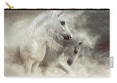 Arabian Horses Sandstorm Carry-all Pouch by Shanina Conway