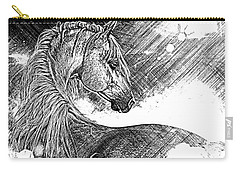 Arabian Sunrise Sketch Carry-all Pouch