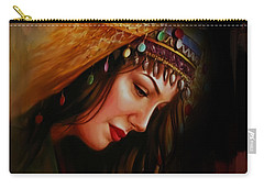 Arabian Woman 043b Carry-all Pouch by Gull G