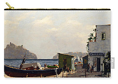 Aragonese's Castle - Island Of Ischia Carry-all Pouch