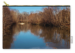 Carry-all Pouch featuring the photograph Ararat River by Randy Sylvia
