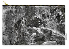 Arboretum Waterfall Bw Carry-all Pouch