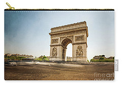 Carry-all Pouch featuring the photograph Arc De Triumph by Hannes Cmarits