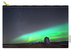 Arc Of The Aurora Carry-all Pouch by Dan Jurak