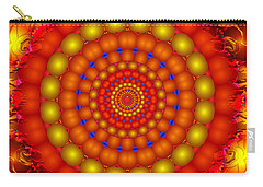 Carry-all Pouch featuring the digital art Arcadian Sky by Robert Orinski