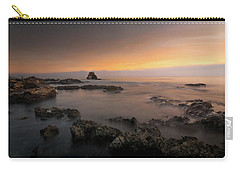 Arch Rock At Little Corona Carry-all Pouch by Ralph Vazquez