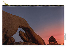 Arch Rock Sunset Carry-all Pouch by Ed Clark