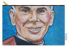 Archbishop Fulton J. Sheen Carry-all Pouch by Bryan Bustard