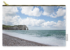 Arch At Etretat Beach, Normandie Carry-all Pouch