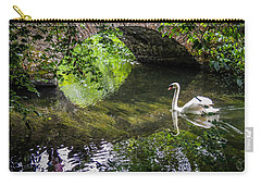 Arched Bridge And Swan At Doneraile Park Carry-all Pouch