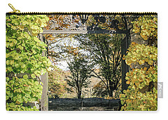 Carry-all Pouch featuring the photograph Arched Path by Colleen Kammerer