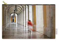 Arched Walkway Terreiro Do Paco Lisbon Portugal  Carry-all Pouch