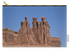 Arches National Park Carry-all Pouch by Cynthia Powell