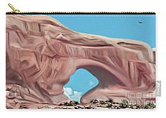 Arches National Park Carry-all Pouch by Walter Colvin