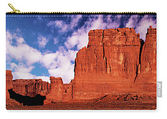 Carry-all Pouch featuring the photograph Arches Pano by Norman Hall