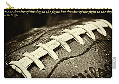 Archie Griffin Quote Carry-all Pouch by David Patterson