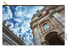 Architectural Majesty On Top Of The Sky Carry-all Pouch