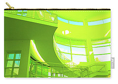Green Splash Architecture Carry-all Pouch