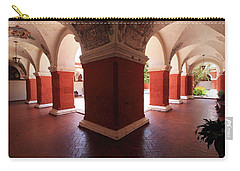 Archway Paintings At Santa Catalina Monastery Carry-all Pouch by Aidan Moran