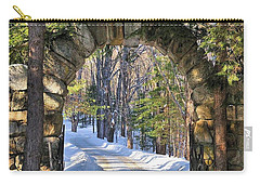 Archway To Winter Carry-all Pouch