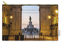 Arco Da Rua Augusta At Sunrise Carry-all Pouch