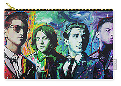 Carry-all Pouch featuring the painting Arctic Monkeys by Richard Day