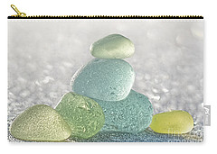 Arctic Spring Sea Glass Carry-all Pouch