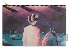 Are There Anymore Real Cowboys? Carry-all Pouch by Jay Milo