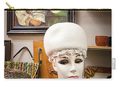 Are You Looking At Me Carry-all Pouch by Mary Lee Dereske